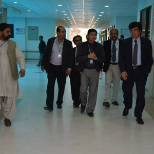 Dr. Syed Ali Hassan Meeting With VC BUITEMS, Farooq Bazai