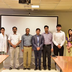 "Attending Seminar On ""Emerging Communication Technologies"" At EE Department Of Iqra University, Islamabad. (May, 6)"