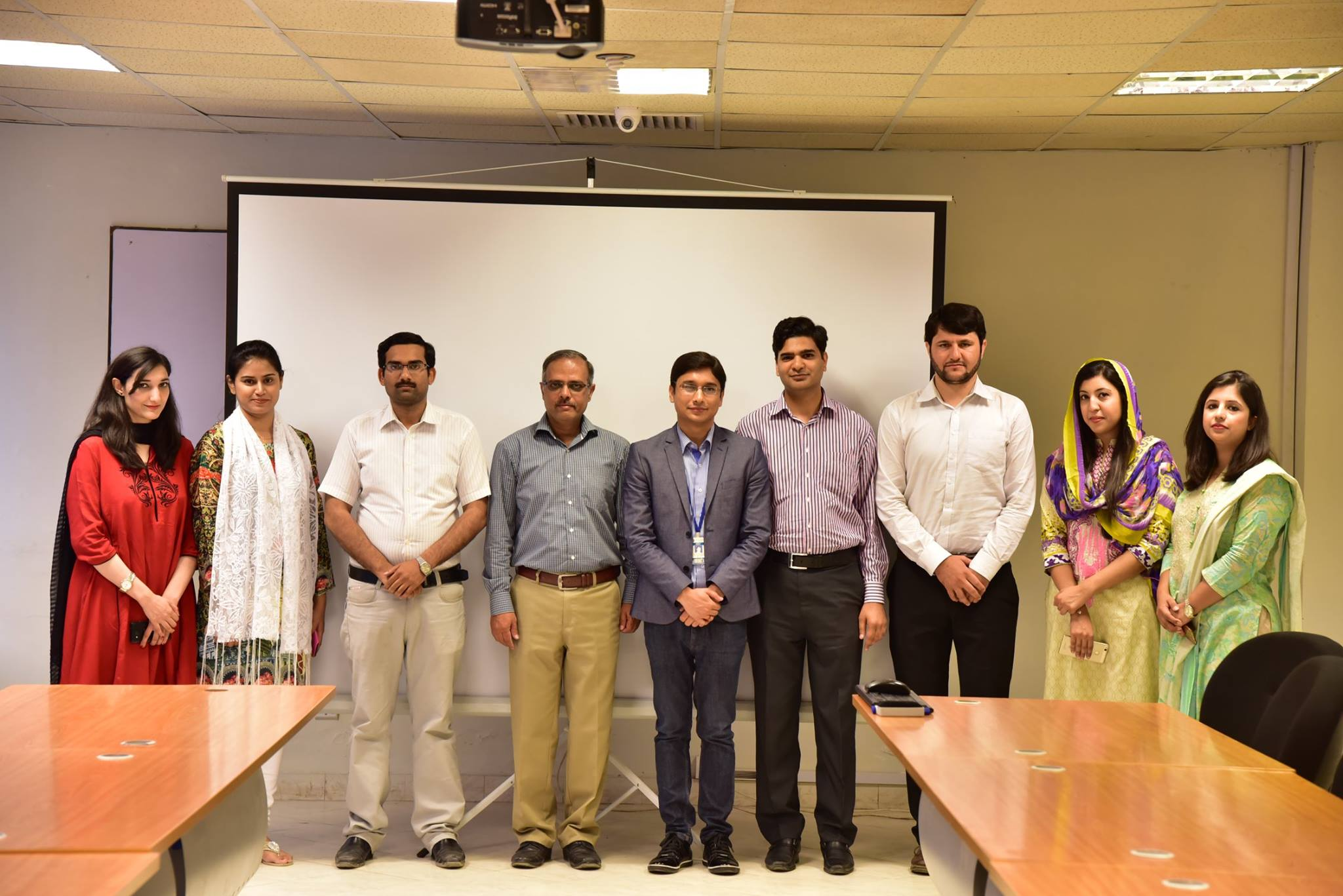"""Attending Seminar On """"Emerging Communication Technologies"""" At Department Of Electrical Engineering, Iqra University, Islamabad"""