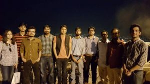 Get Together at Monal with UG Students