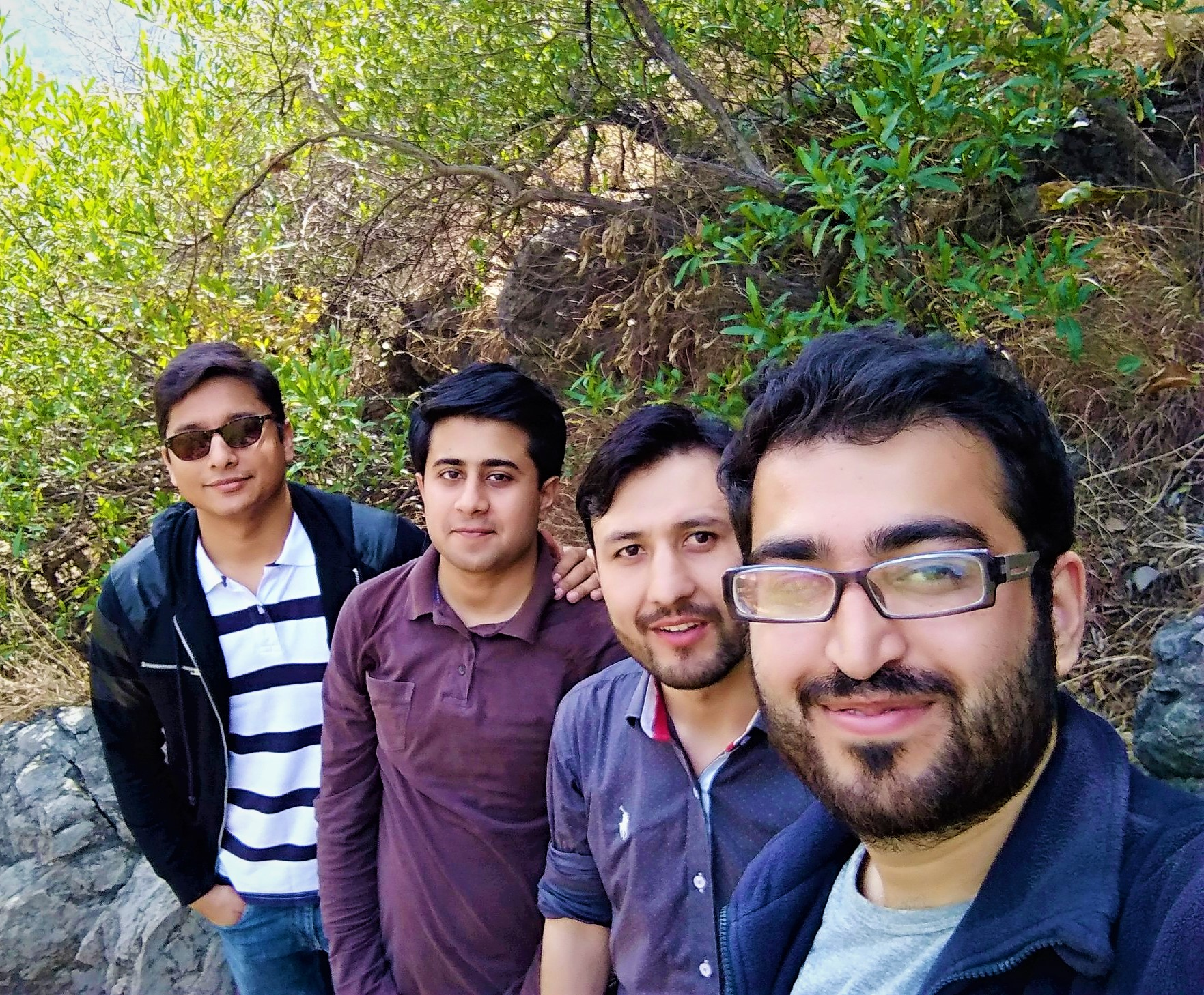 Hikinng On Trail-5 Leading To Lunch In Monal (2019)