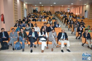 Participation in IEEE ICE CUBE conference held from 11-12 April at Quetta