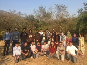 BBQ Party at Trail-5 (Fall 2016)