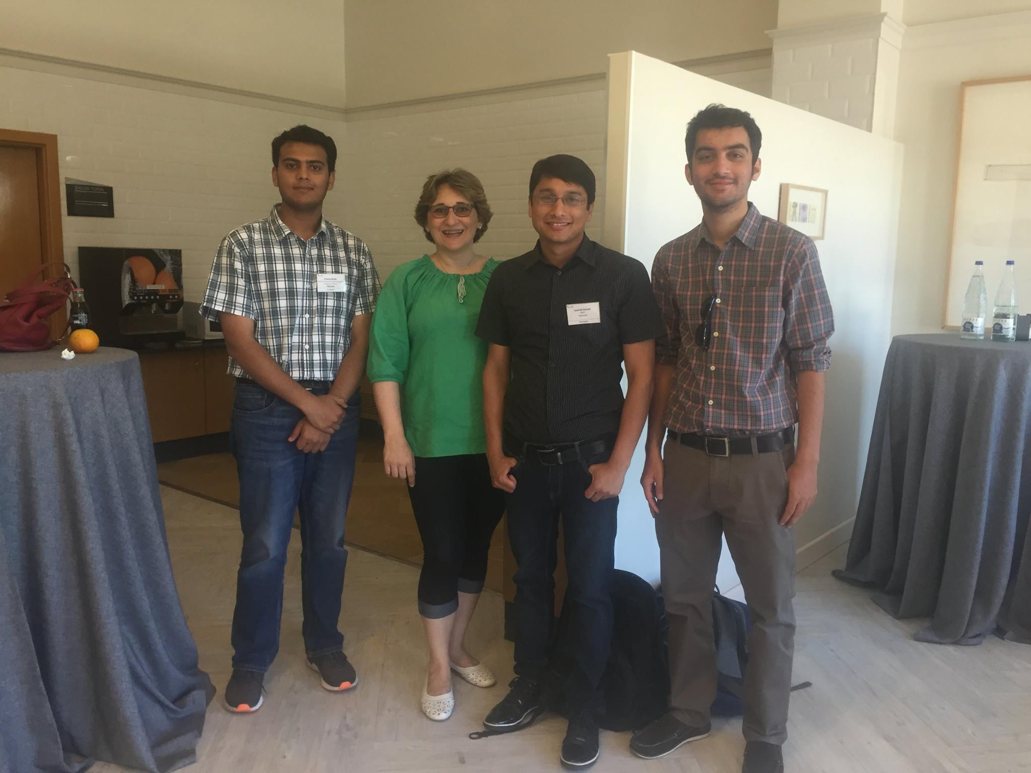 Dr. Ali Hassan And His Students With Prof. Octavia Dobre (IWCMC'17)